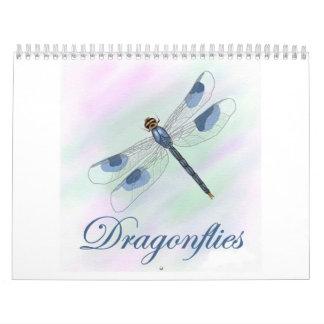 Calendario de 2015 libélulas