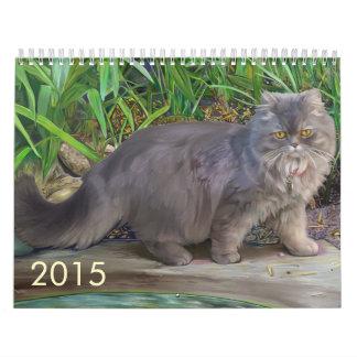Calendario de 2015 mascotas