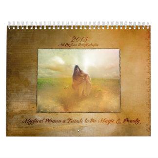 Calendario de 2015 señoras místicas y de las