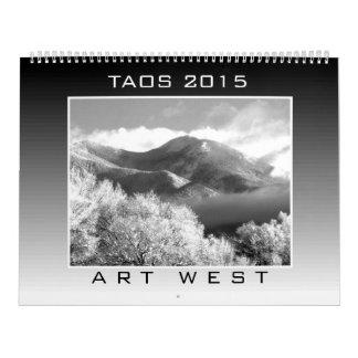 Calendario de 2015 TAOS por el arte del oeste