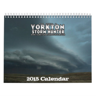 Calendario de 2015 tormentas