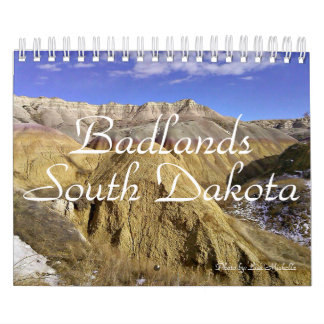 Calendario de 2016 Badlands