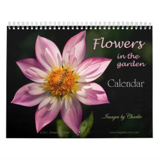 Calendario de 2016 flores (o seleccione cualquier