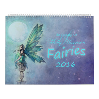 Calendario de 2016 hadas por arte de la fantasía