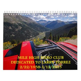 Calendario de 2016 MHFC