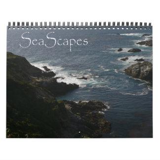 Calendario de 2016 paisajes marinos