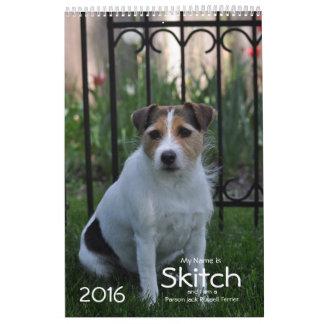 Calendario de 2016 perros