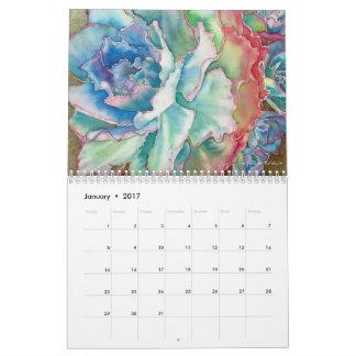 Calendario de 2017 Succulent