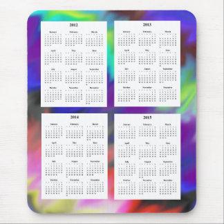 Calendario de 4 años (2012-2015) mousepads