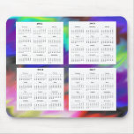 Calendario de 4 años (2012-2015) tapete de ratones