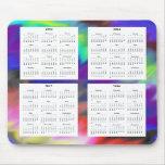 Calendario de 4 años (2013-2016) tapetes de raton