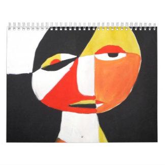 calendario de 5 colores