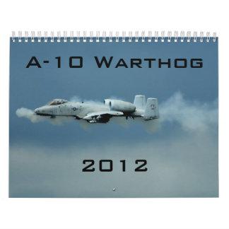Calendario de A-10 Warthog