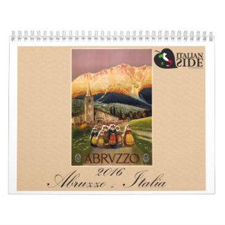 Calendario de Abruzos - de Italia