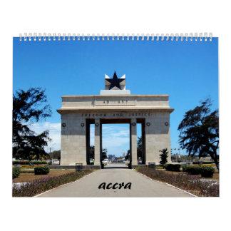 calendario de Accra