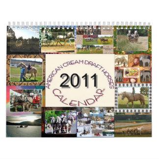 Calendario de ACDHA 2011