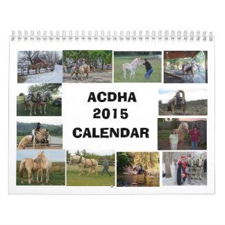 Calendario de ACDHA 2015