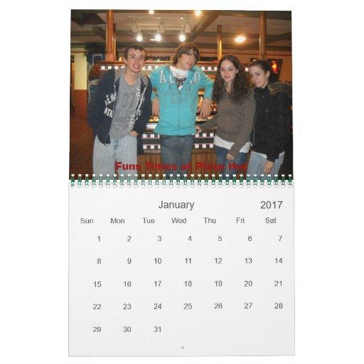 Calendario de AJKMN 2012