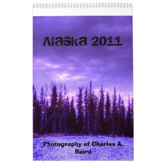 Calendario de Alaska 2011