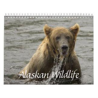 Calendario de Alaska de la fauna