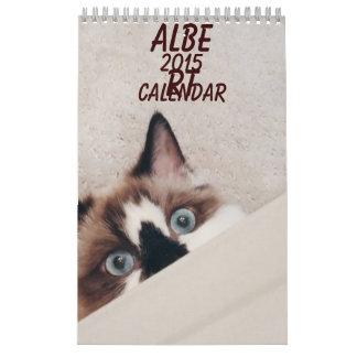Calendario de Albertbabycat 2015