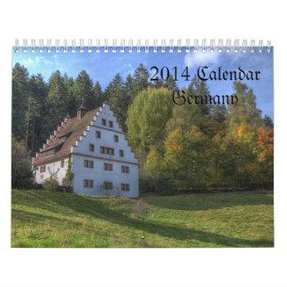 Calendario de Alemania
