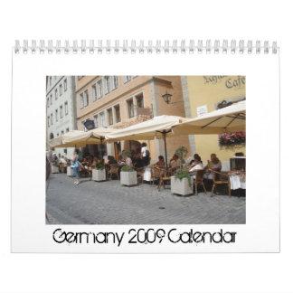 Calendario de Alemania 2009