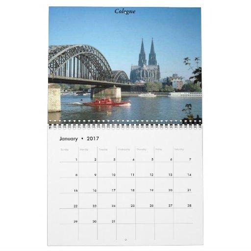 Calendario de Alemania 2012