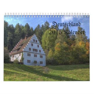Calendario de Alemania/Deutchland Kalendar -