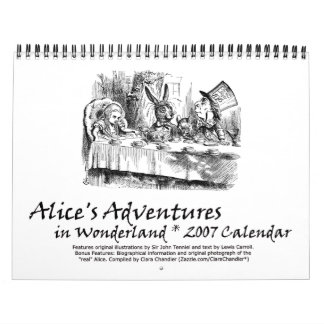 Calendario de Alicia 2007