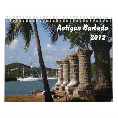 Calendario de Antigua Barbuda