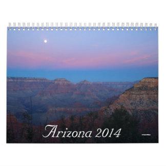 Calendario de Arizona 2014