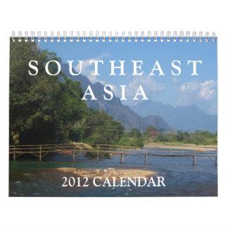 Calendario de Asia sudoriental 2012