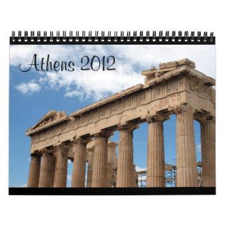 calendario de Atenas 2012