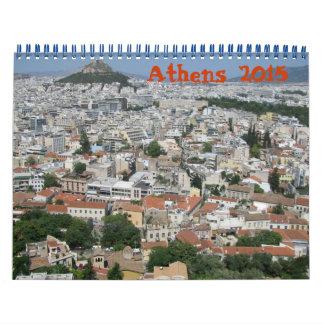 Calendario de Atenas Grecia 2015