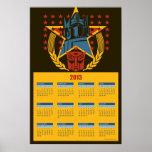 Calendario de Autobot de 2013 transformadores Impresiones