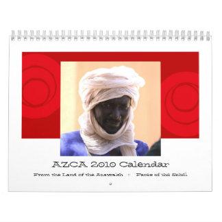 Calendario de AZCA 2010