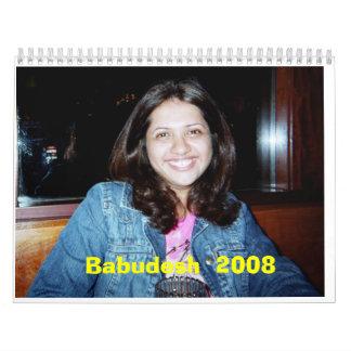 Calendario de Babudesh 2008
