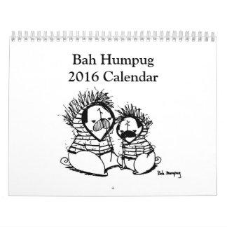 Calendario de Bah Humpug 2016