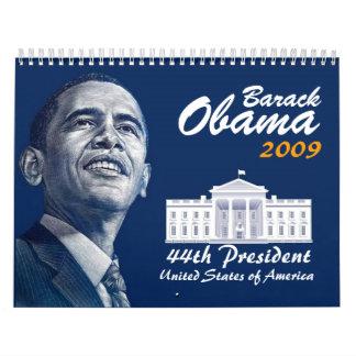 Calendario de Barack Obama