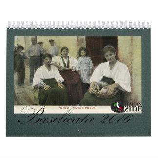 Calendario de Basilicata - de Italia