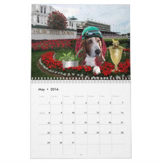 Calendario de Basset Hound