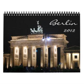 calendario de Berlín 2012
