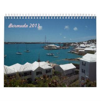 Calendario de Bermudas 2013