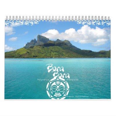 Calendario de Bora Bora 2011