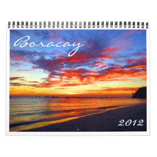calendario de Boracay 2012