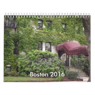Calendario de Boston 2016