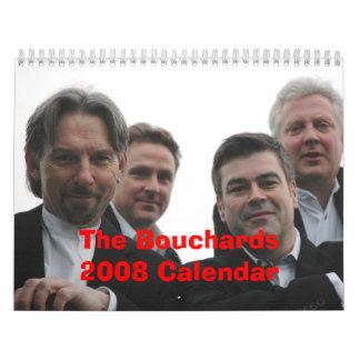 ¡Calendario de Bouchards 2008 nuevo
