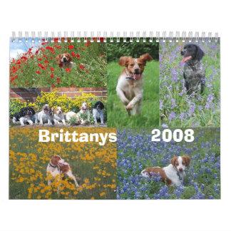 Calendario de Bretaña 2008