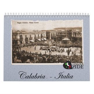Calendario de Calabria Italia
